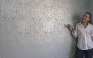 Как приклеить флизелиновые обои на бетонную стену?