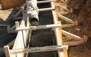 Как рассчитать количество бетона на фундамент?