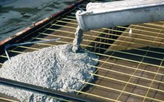 Сколько времени застывает цементный раствор?