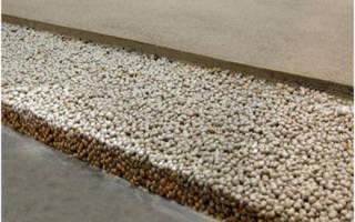 Соотношение керамзита и пескобетона для стяжки