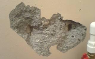 Чем заделать щели в бетонной стене?