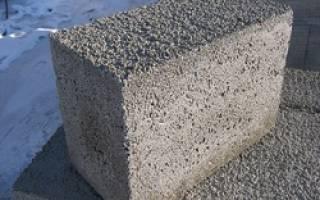 Пенопластовые блоки для заливки бетона