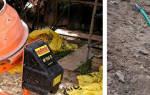 Как делать бетон в бетономешалке?