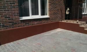 Чем покрасить фундамент дома снаружи?