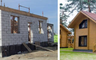 Что дешевле дом из бруса или газобетона?