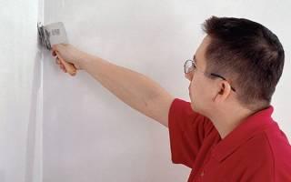 Как шпаклевать внутренние углы стен?