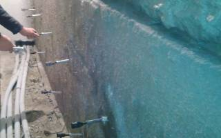 Инъецирование трещин в бетоне