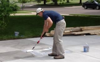 Уход за бетоном в летнее время