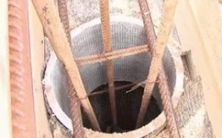 Свайный фундамент на глубину промерзания с ростверком
