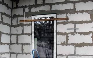 Как установить железную дверь в пеноблок?