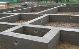 Свайно ростверковый фундамент с монолитной плитой Перекрытие