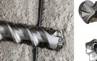 Как просверлить бетонную стену с арматурой?