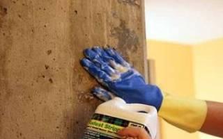 Какой краской красить бетонные стены?