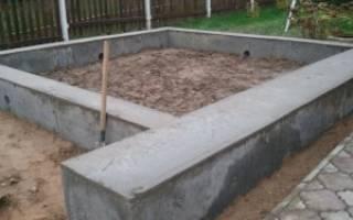 Какой глубины должен быть фундамент под гараж?