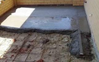Как рассчитать количество бетона на стяжку?