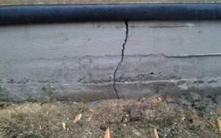 После заливки фундамента появились трещины на поверхности