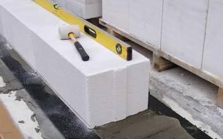 Как правильно класть газобетонные блоки?
