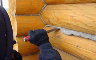 Как утеплить углы в деревянном доме?
