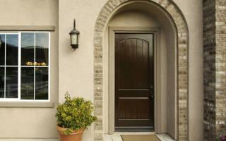 Как установить металлическую дверь в пеноблок?