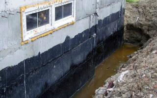 Как правильно сделать гидроизоляцию цокольного этажа?