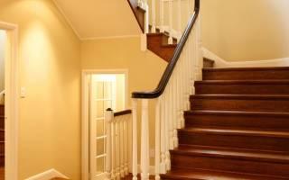 Отделка бетонной лестницы ламинатом