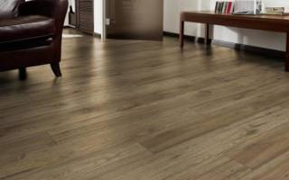 Как укладывается ламинат на бетонный пол?