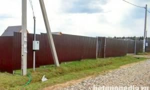 Высота бетонного столба под электричество
