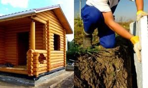 Как утеплить фундамент бани изнутри?