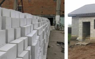 Затраты на постройку дома из пеноблоков