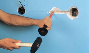 Инструмент для штробления бетонных стен