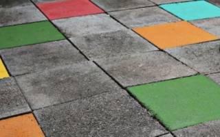 Водоотталкивающая краска для бетона