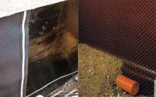 Гидроизоляционные мембраны для фундаментов и подвалов