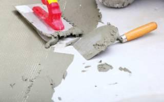 Как развести цемент без песка?