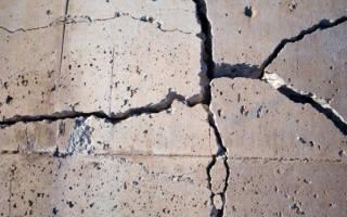 Почему крошится бетон?