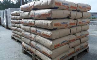 Цемент м400 технические характеристики