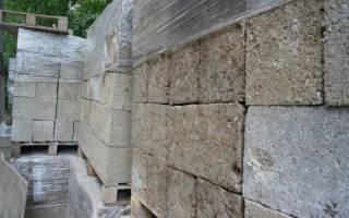 Как изготовить блоки из опилок?