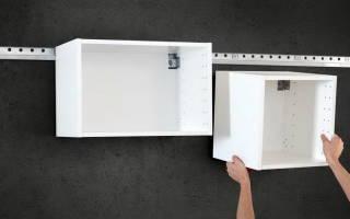 Как повесить кухню на стену из гипсокартона?