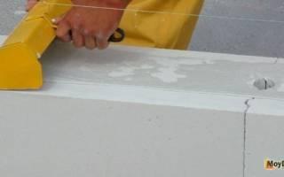 Можно ли класть газобетон на цементный раствор?