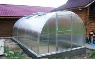 Фундамент под теплицу из поликарбоната какой лучше?