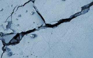 Заделка трещин в бетоне на улице