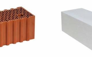 Газобетон или керамические блоки что лучше?