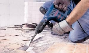 Как снять слой бетона с пола?