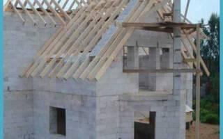 Сколько по времени строится дом из пеноблоков?