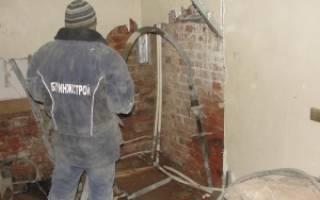 Усиление грунтов основания фундаментов методом цементации