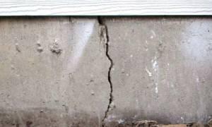 Как устранить трещину в фундаменте?