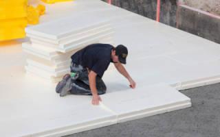 Как утеплить бетонный пол в квартире?