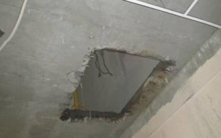 Лазерная резка бетонных стен