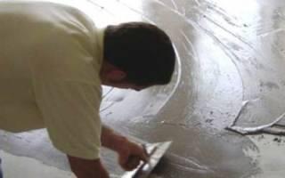 Эпоксидная шпаклевка для бетона