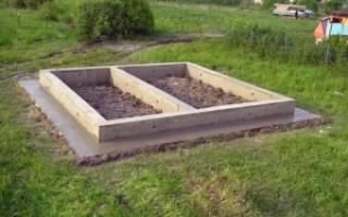 Как рассчитать фундамент для бани?
