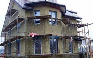 Как правильно утеплить дом минеральной ватой?